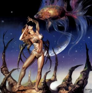 Boris Vallejo : Wisdom From The Sea (2000)